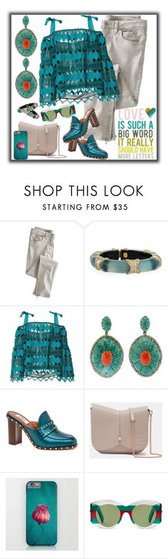 """""""Playdate"""" by petalp ❤ liked on Polyvore featuring Wrap, Alexis Bittar, ZAC Zac Posen, Silvia Furmanovich, Ted Baker, Gucci and polyvoreeditorial"""