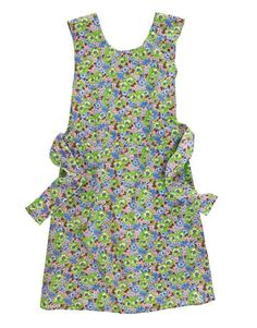 1930s    Agricultural suppliers appealed to farm wives during the Depression with printed chicken-feed sacks that could double as fabric for aprons like this shift      Read more: Vintage Aprons - Old Aprons - Country Living homestead