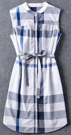 blue plaid shirt dress. cute and classic!