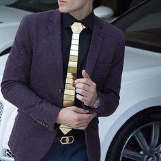 Tie & Belt by @hextie While stock is Available $99 Hex Honeycomb www.hextie.com