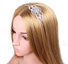 Babeyond bandeau serre tête couronne diamanté femme vintage pour les années 1920 gatsby le magnifique: Amazon.fr: Bijoux