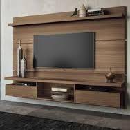 Resultado de imagen para painel de tv com rack suspenso                                                                                                                                                                                 Más