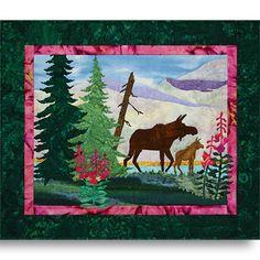 Summer Moose Pattern By Marlene Anderson