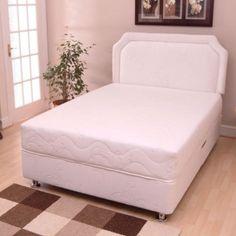 Bedding Sets Uk, White Bedding, Divan Sets, White Bedroom Furniture, Luxury Bedding, Bed Sheets, Mattress, Sleep, House Styles