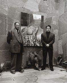 Diego Rivera y Siqueiros, Fotografia de Rodrigo Moya.