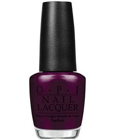 OPI Nail Lacquer, Black Cherry Chutney - Makeup - Beauty - Macy's