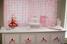 Ruffles and Pearls 1st birthday