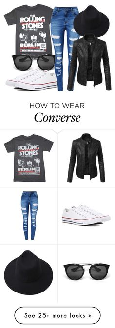 """Untitled #315"" by bill-board on Polyvore featuring Prada, WithChic, LE3NO and Converse"