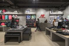 New Balance Melbourne - Red Design Group Red Design, Melbourne, Retail, Group, Home, Ad Home, Homes, Retail Merchandising, House