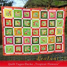 Lealani - Schnörkelwerk, Quilt, Blanket, Bed Cover