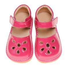 Pre Order Hot Pink Petal Patent Style Squeaky Shoes (June) – Southern Tots Squeaky Shoes, Pink Petals, Crocs, Hot Pink, Sandals, Southern, June, Style, Fashion