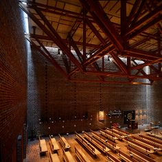 Islev Kirke (1970) | Copenhagen Denmark by Architects Inger and Johannes Exner