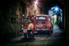 Vespa & Fiat by Emmanuel Hatas on 500px