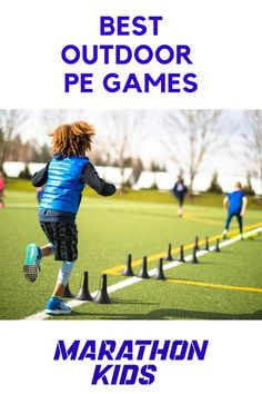 Here are eight of the best outdoor PE games using balls beanbags flags hula hoops or no equipment at all for keeping things fresh and fun on days when its time to head outside and team sports just wont cut it. Warm Up For Kids, Yoga For Kids, Exercise For Kids, Sports Activities For Kids, Pe Activities, Physical Activities, Movement Activities, Exercise Activities, Dementia Activities