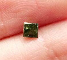 Green Diamond Green Diamond Square Green Diamond by gemsforjewels