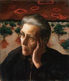 AKSELI GALLEN-KALLELA  Portrait of the Artist's Mother