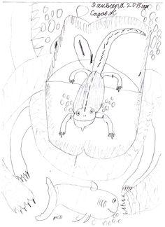 игуана в пасти крокодила
