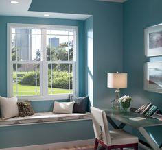 Urban Home Office - Pella 250 Series Single-Hung Windows | Pella Photo Gallery