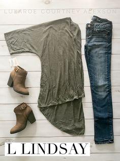 """Outfit Wall Drop! 🤗  Gorgeous Olive Green Large Lindsay! $48  ✨Free Shipping!✨ Comment """"Mine"""" below to claim!! #lularoe #lularoelindsay #lulalove #lularoecourtneyalexson #buyme #shopwithme #wednesday #wednesdayoutfit #ootd #outfitoftheday #style #fallfashion #fall #fashion #fashionretailer #consultant #kimono #lindsaykimono"""