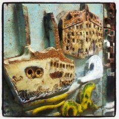 Istanbul  11th grade ceramic relief  sculpture course ..