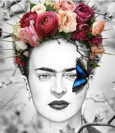 Frida Kahlo Artwork, Frida Kahlo Portraits, Kahlo Paintings, Frida Art, Mexican Artwork, Afrique Art, Frida And Diego, Diego Rivera, Art Graphique