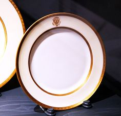Wilson White House dessert plate - Smithsonian Museum of Natural History - 2012-05-15 | Flickr - Photo Sharing!