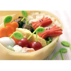 picks Bento Recipes, Bento Ideas, Lunch Ideas, Snack Box, Lunch Box, Cooking Appliances, Tree Leaves, Fruit Salad, Cute Bento Boxes
