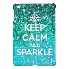 Keep Calm and Sparkle Aqua Glitter LookLike Case For The iPad Mini We have the best promotion for you and if you are interested in the related item or need more information reviews from the x customer who are own of them before please follow the link to see fully reviewsHow to         ...