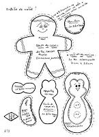 Templates For Fabric Crafts: Christmas Template 2 of 4