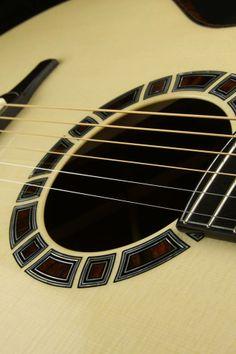 Doerr Guitars split rosette