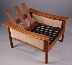 Pair Of Teak Armchairs By Oskar Langlo