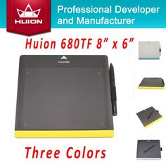 """69.99$  Buy here - http://aliua1.shopchina.info/go.php?t=32219918958 - """"Hot Sale HUION New 680TF 8"""""""" x 6"""""""" Digital Graphics Pen Tablets Professional Signature Pad With MicroSD Card Drawing Panel 680TF""""  #buyonlinewebsite"""