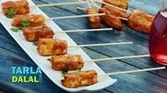 Paneer Pudina Tikka recipe | Tarladalal.com | Member Contributed | #13912