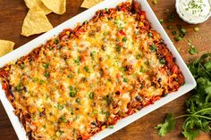 Cheesy Beef and Sweet Potato Taco Casserolethepioneerwoman Taco Casserole, Sweet Potato Casserole, Casserole Recipes, Casserole Dishes, Mexican Food Recipes, Beef Recipes, Cooking Recipes, Ethnic Recipes, Quick Recipes
