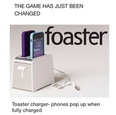 Why is it the foaster? It sounds like fucking toaster hahahahha