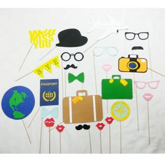 Going away party props by LeStudioRose on Etsy