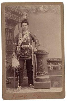 Running Fox (aka George Fox) - Omaha - circa 1885