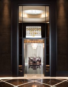 The Residences at The Ritz-Carlton, Toronto. Interior design by Munge Leung.