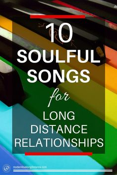 What helps during the tough moments? One thing that has always helped me is music. It has always been like therapy for me.  These 10 LDR songs are perfect for couples in long distance relationships.