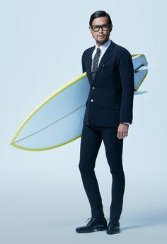 #TrueWetsuits by @Quiksilver, el traje más elegante para coger olas. #surf #quiksilver