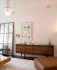 Minimal and neat mid-century furniture
