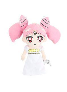 """<p>Chibi plush version of Princess Usagi Small Lady Serenity from <i>Sailor Moon</i>.</p><ul><li>Approx. 9"""" tall</li><li>Polyester fibers</li><li>Imported</li></ul>"""