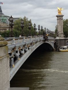 Alexander Bridge Paris France Close to where we lived while there! Miss it!