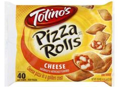 Make our Homemade Totinos Pizza Rolls Recipe at home tonight. With our Secret Recipe your homemade Pizza Rolls will taste just like Totino's. Hot Snacks, Easy Snacks, Totinos Pizza Rolls, Pepperoni Pizza Rolls, Homemade Pizza Rolls, Frozen Appetizers, Meat Pizza, Frozen Pizza, Sweets
