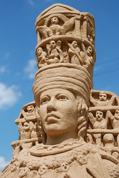 (a):Sand Sculpture:Artemis | Flickr - Photo Sharing!
