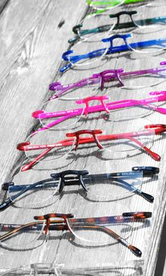 The Gels Collection. Lightweight reading glasses from Scojo New York!