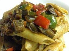 Recetas de Gourmet: Mostacholes con Verduras al Wok