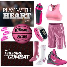 Pink NIKE Basketball Outfitting: Fashion sports bras, socks, shoes and more! Pink NIKE Basketball Outfitting: Fashion sports bras, socks, shoes and more! Nike Basketball Socks, Basketball Shorts Girls, Girls Basketball Shoes, Basketball Games For Kids, Basketball Practice, Basketball Uniforms, Basketball Players, Basketball Hoop, Sports Socks