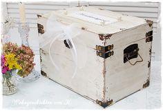 Kartenbox Hochzeit Geldgeschenke Hochzeitsdeko http://Wohngeschichten-von-K.dawanda.com
