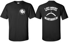 """Men's """"I GET WACKY WITH FATTIES"""" T-shirt from Lockett Lures Outlet only $10.00!"""